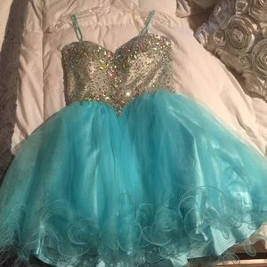 Light blue Aspeed U.S.A dress